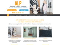 Création du site Internet de ALP (Entreprise de Entreprise de clôture à PUGET-SUR-ARGENS )