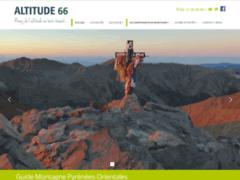 Site Détails : Altitude 66 séjours et randonnées dans les Pyrénées Orientales