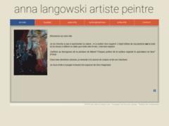 Anna langowski artiste peintre
