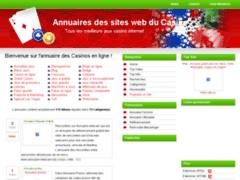 Détails :                  Annuaires des sites web du Casino