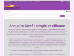 Annuaire SWCF