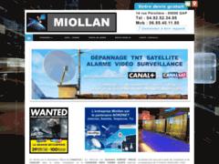 Création du site Internet de Miollan Romain (Entreprise de Entreprise d'alarme à GAP )