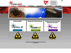 Création du site Internet de AP GROUPE SERVICES ® (Entreprise de Entreprise de nettoyage à LE BOURGET DU LAC )