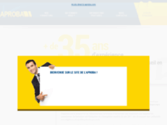 Consulter la fiche de Aproba : Formation En Gestion Et Management Des Entreprises BTP