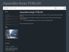 Aquarelles Serge TURLAN