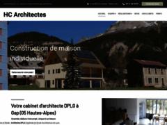 Création du site Internet de HCM Architecte Gap (Entreprise de Architecte à GAP )