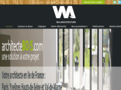 Création du site Internet de MAG Architects (Entreprise de Architecte à PARIS )