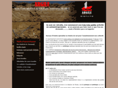 Création du site Internet de Argile (Entreprise de Bureau d'études à SAINT BENOIT EN DIOIS )