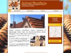 Création du site Internet de Decobecq Franck (Entreprise de Couvreur à ISTRES )