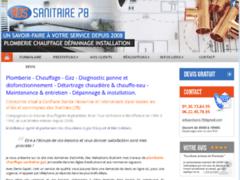 Création du site Internet de ADS Sanitaire 78 (Entreprise de Plombier à PONTOISE )
