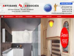 Création du site Internet de Artisans Associés (Entreprise de Entreprise générale à MONTPELLIER )
