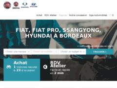 Concessionnaire Fiat, Hyundai, Mitsubishi, Ssangyong à Bordeaux