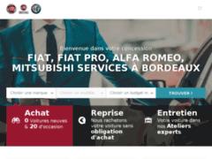 Concessionnaire Fiat, Alfa Romeo, Mitsubishi Service à Bordeaux