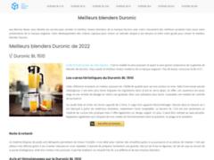 Détails : Avis sur les mixeurs Duronic