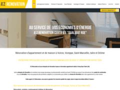 Création du site Internet de A'Z RENOVATION (Entreprise de Isolation à VINAY )