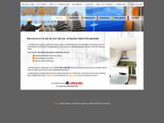 Création du site Internet de Azur Service (Entreprise de Production d'électricité à LA CIOTAT )