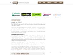 Comparatif de banques en ligne