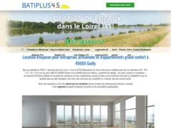 Création du site Internet de Batiplus 45 (Entreprise de Gestionnaire de biens à GUILLY )
