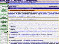 Consulter la fiche de Bruno Hénon - Automaticien Industriel Indépendant