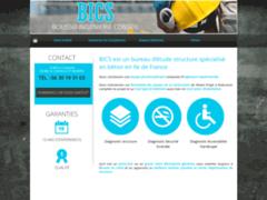Création du site Internet de BICS (Entreprise de Bureau d'études à LA CHAPELLE ST MESMIN )