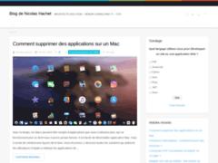 Le blog de Nicolas Hachet