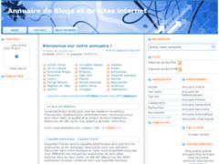 Annuaire de Blogs et de sites internet