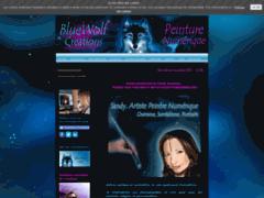 BlueWolf Creations, peinture numérique