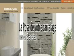 Création du site Internet de SARL BOGA SOL (Entreprise de Carreleur à CHANTILLY  )