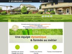 Création du site Internet de Brocquet Rudy (Entreprise de Jardinier à LIMETZ VILLEZ )