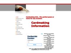 Cardmaking info