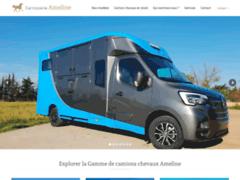 Carrosserie ameline camion chevaux