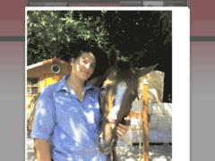 A cheval en creuse