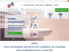 Création du site Internet de S.M.P.C.I (Entreprise de Chauffagiste à MALESHERBES )