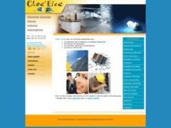 Création du site Internet de Choc Elec (Entreprise de Electricien à ST VINCENT SUR JARD )