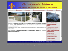 Création du site Internet de M.BRETHOMME CYRIL (Entreprise de Peintre à SAINT AYGULF )