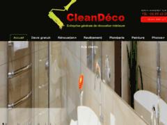 Création du site Internet de CLEANDECO (Entreprise de Peintre à ASNIERES SUR SEINE )