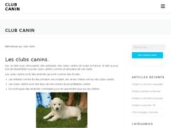 Club canin