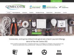 Création du site Internet de COMECOTEC (Entreprise de Electricien à FEUCHY )
