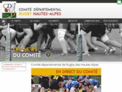 Création du site Internet de Comité départemental de rugby Hautes Alpes (Entreprise de Club de sport à ROMETTE )