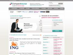 Comparabourse - comparatif de la bourse en ligne