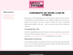 Comparateur clubs de musculation