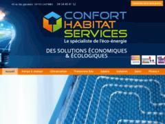 Création du site Internet de S.A.R.L  Confort habitat services (Entreprise de Chauffagiste à CASTRIES  )