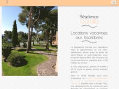 La résidence Coralia : location