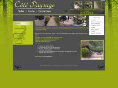 Création du site Internet de COTE PAYSAGE (Entreprise de Jardinier à LES COTES D'AREY )