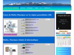 Site Détails : Cours Maths Grenoble : soutien scolaire sur la région grenobloise