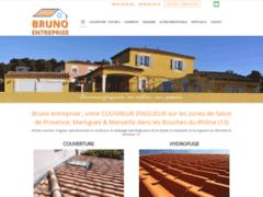 Création du site Internet de Bruno Entreprise (Entreprise de Couvreur à ISTRES  )