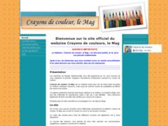 webzine Crayons de couleurs