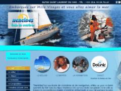 Création du site Internet de Ecole de Croisière Les Néréides (Entreprise de Club de sport à LA GAUDE )