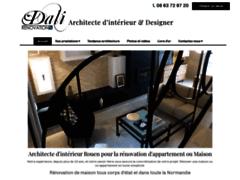 Création du site Internet de Dali Renovation (Entreprise de Architecte à LE PETIT-QUEVILLY )