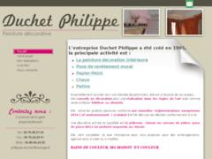 Création du site Internet de Duchet Philippe (Entreprise de Peintre à ST ANDEOL LE CHATEAU )